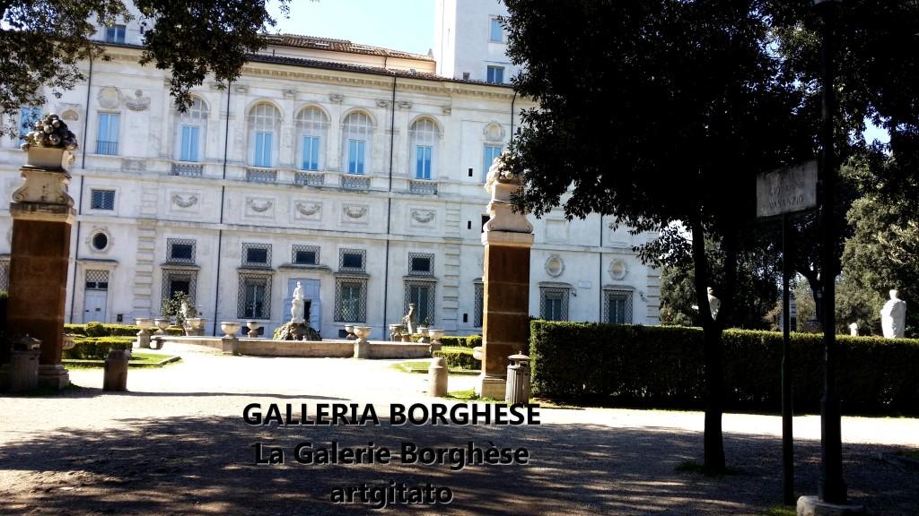 Galleria Borghese Galerie Borghese Villa Borghese artgitato 1