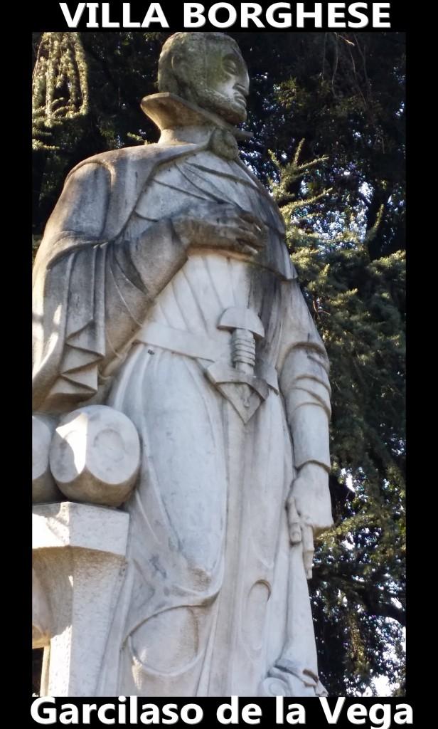 Garcilaso de la vega artgitato villa borghese roma rome 1
