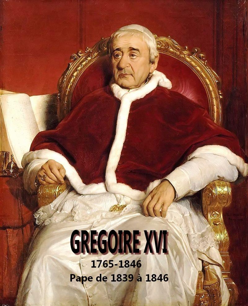 Gregory XVI Grégoire XVI Musée Egyptien artgitato