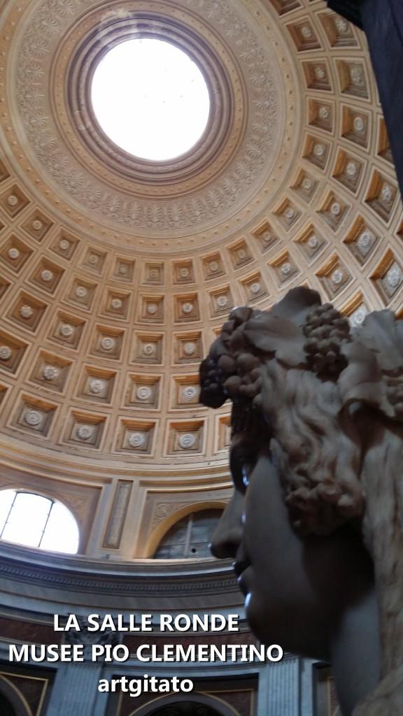 La Salle Ronde Musée Pio Clementino Artgitato