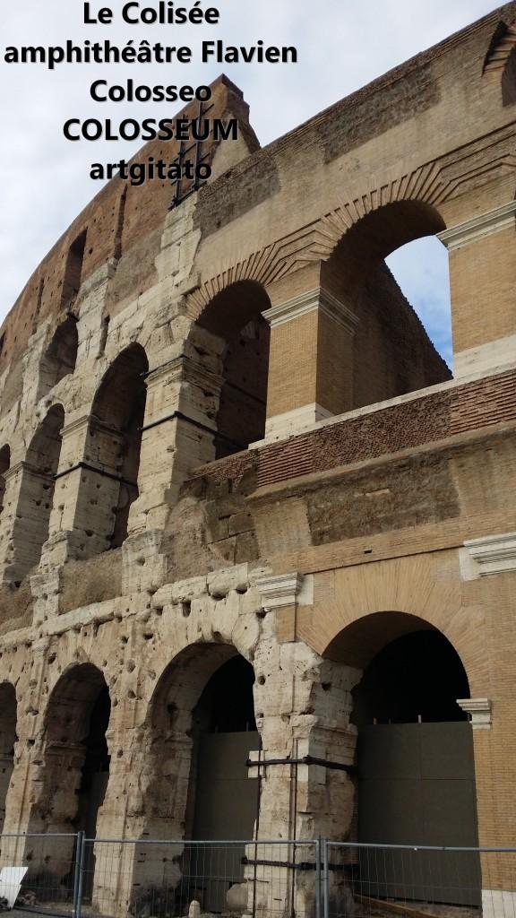 Le Colisée amphithéâtre Flavien Colosseo Colosseum artgitato 10