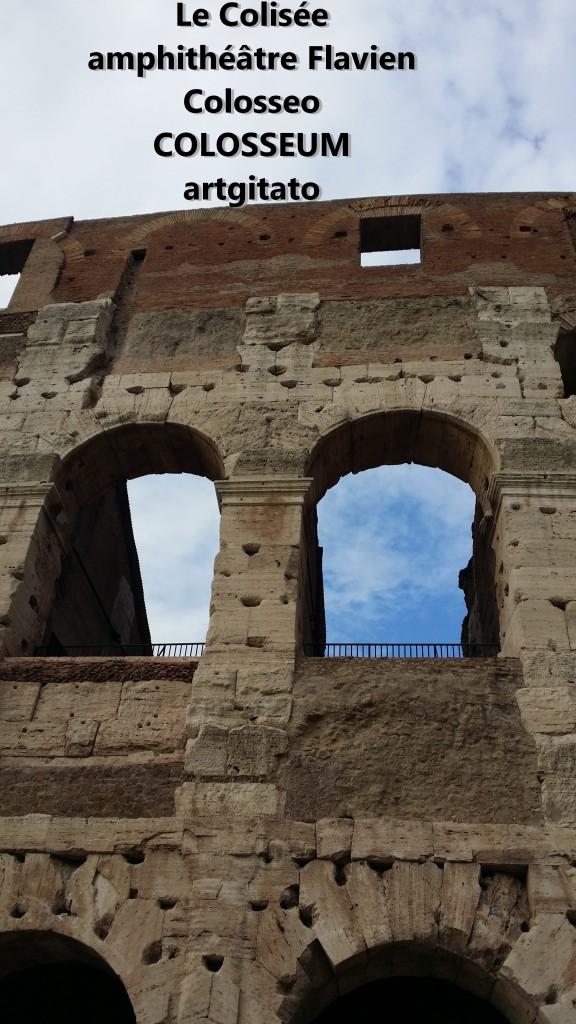 Le Colisée amphithéâtre Flavien Colosseo Colosseum artgitato 11