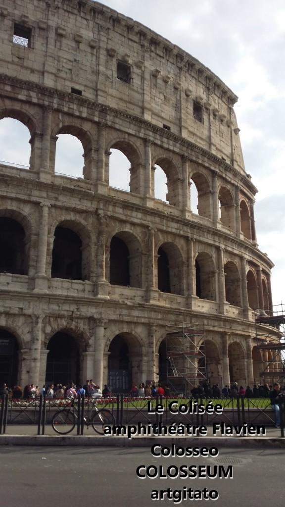 Le Colisée amphithéâtre Flavien Colosseo Colosseum artgitato 4