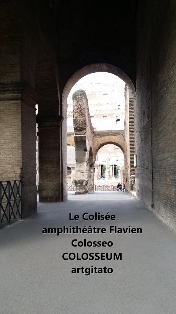 Le Colisée amphithéâtre Flavien Colosseo Colosseum artgitato 6