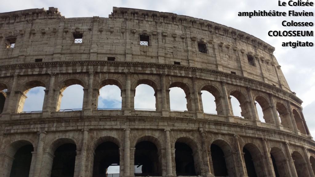 Le Colisée amphithéâtre Flavien Colosseo Colosseum artgitato 8