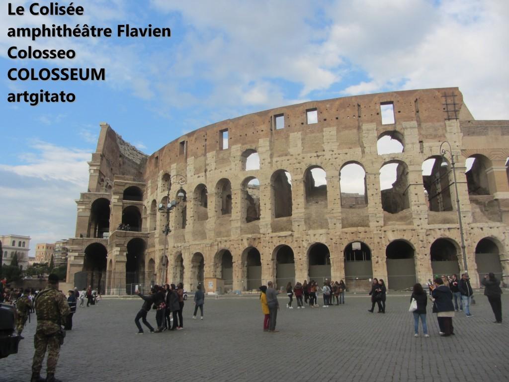 Le Colisée amphithéâtre Flavien Colosseo Colosseum artgitato 9