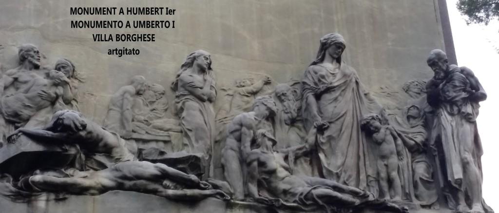 Monument à Humbert Ier Monumento a Umberto I Villa borghese rome roma artgitato 11