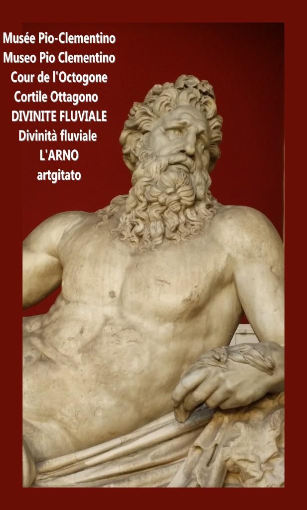 Musée Pio Clementio Museo Cour de l'octogone Cortile Ottagono divinité fluviale divinta fluviale arno artgitato