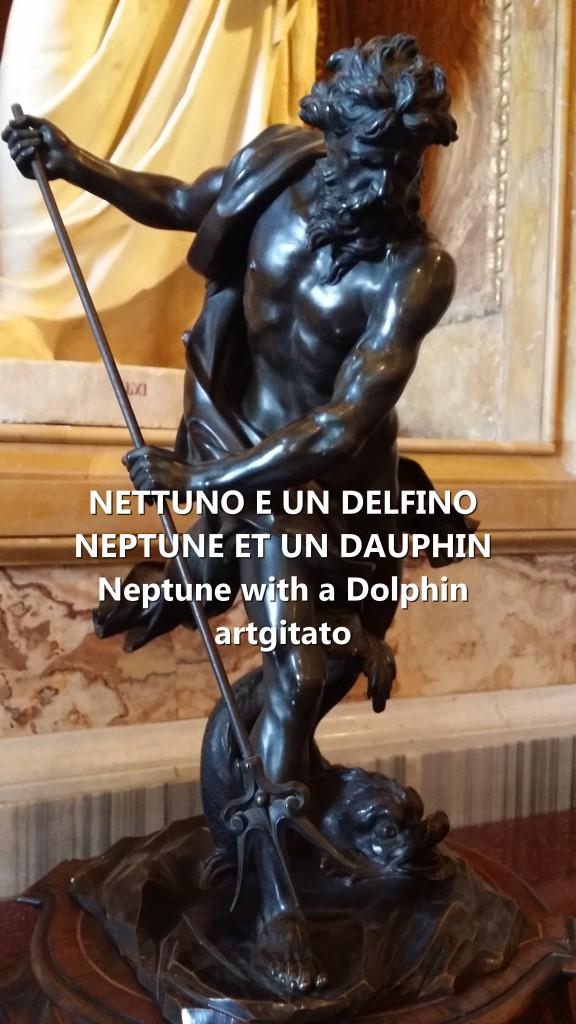 NETTUNO E UN DELFINO Neptune et un dauphin Neptune with a dolphin 2