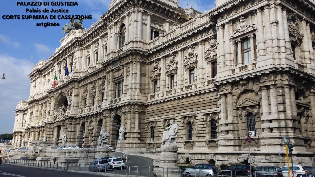 PALAZZO DI GIUSTIZIA - Palais de Justice - CORTE SUPREMA DI CASSAZIONE rome Roma 1