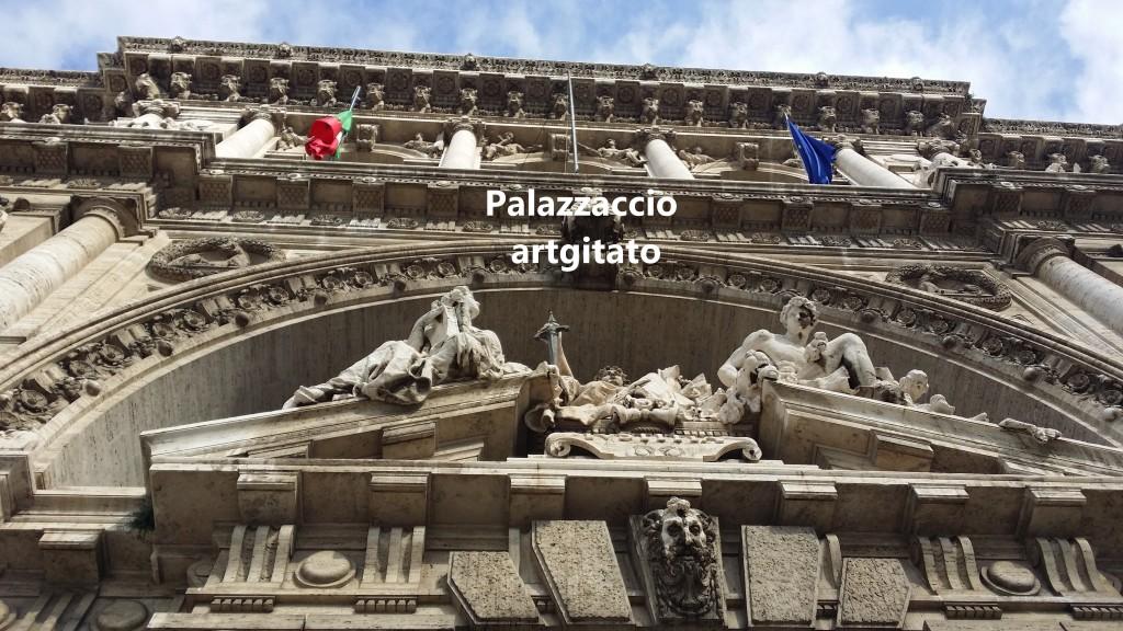 PALAZZO DI GIUSTIZIA - Palais de Justice - CORTE SUPREMA DI CASSAZIONE rome Roma 10 ROMAGNOSI PIAZZA DEI TRIBUNALI Palazzaccio