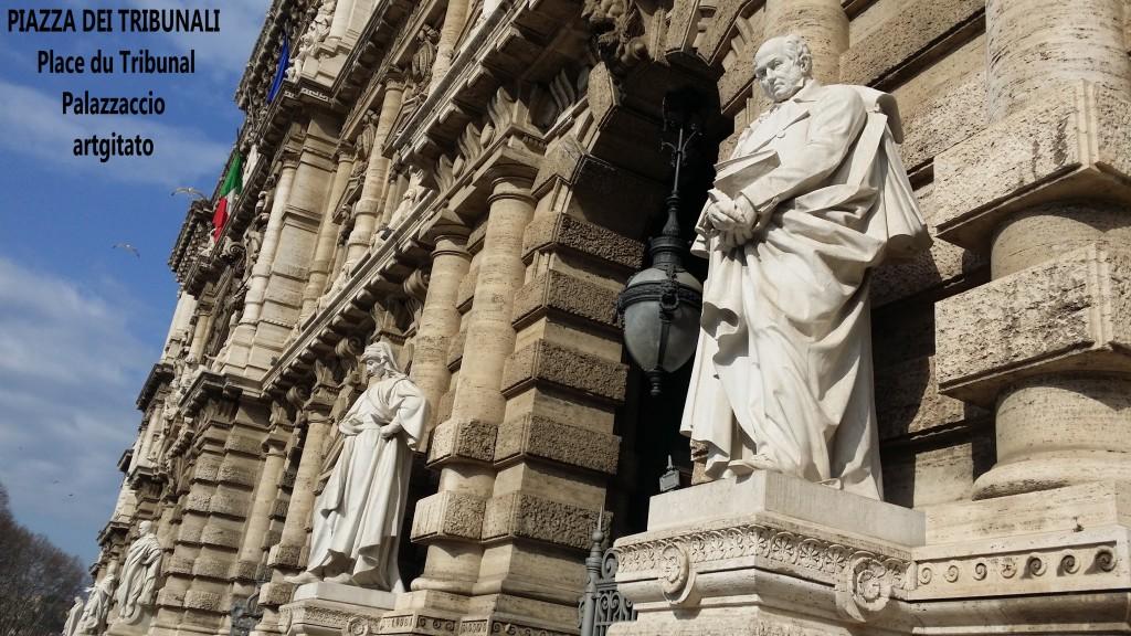 PALAZZO DI GIUSTIZIA - Palais de Justice - CORTE SUPREMA DI CASSAZIONE rome Roma 5 PIAZZA DEI TRIBUNALI Palazzaccio