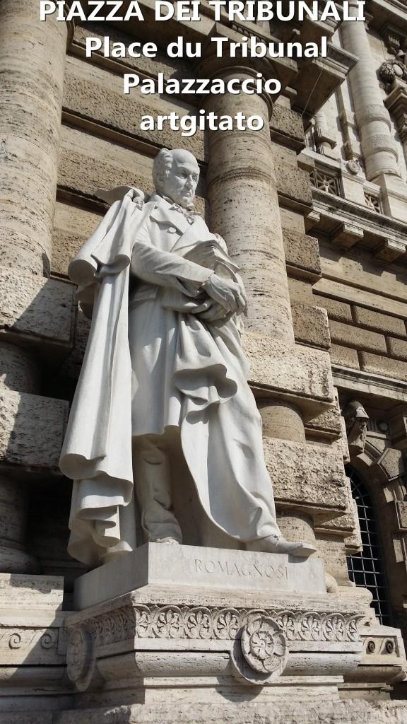 PALAZZO DI GIUSTIZIA - Palais de Justice - CORTE SUPREMA DI CASSAZIONE rome Roma 6 ROMAGNOSI PIAZZA DEI TRIBUNALI Palazzaccio