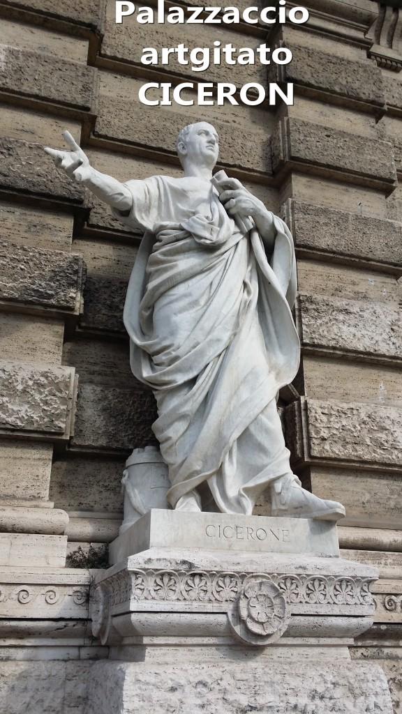 PALAZZO DI GIUSTIZIA - Palais de Justice - CORTE SUPREMA DI CASSAZIONE rome Roma CICERON PIAZZA DEI TRIBUNALI Palazzaccio