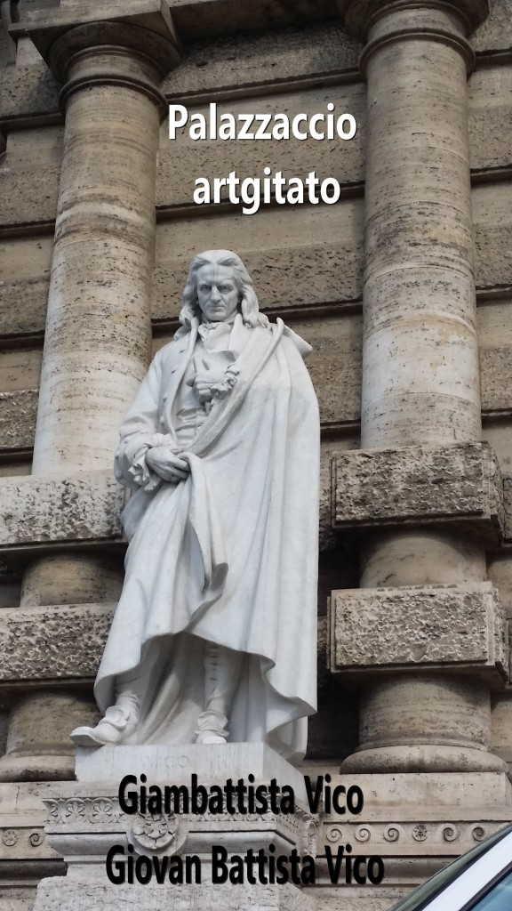 PALAZZO DI GIUSTIZIA - Palais de Justice - CORTE SUPREMA DI CASSAZIONE rome Roma Giambattista Vico Giovan Battista Vico PIAZZA DEI TRIBUNALI Palazzaccio