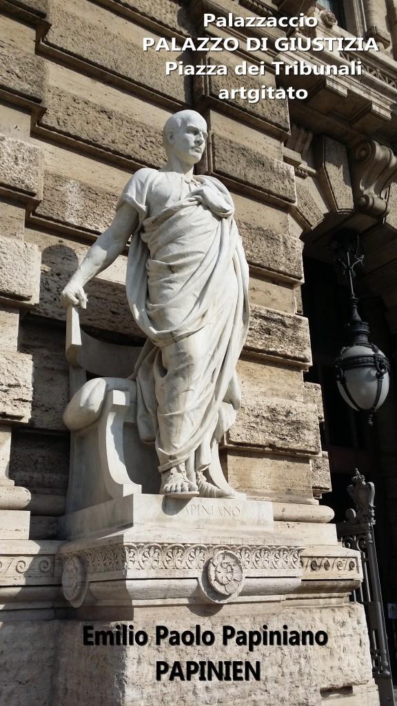 PALAZZO DI GIUSTIZIA - Palais de Justice - CORTE SUPREMA DI CASSAZIONE rome Roma Papiniano ROMAGNOSI PIAZZA DEI TRIBUNALI Palazzaccio