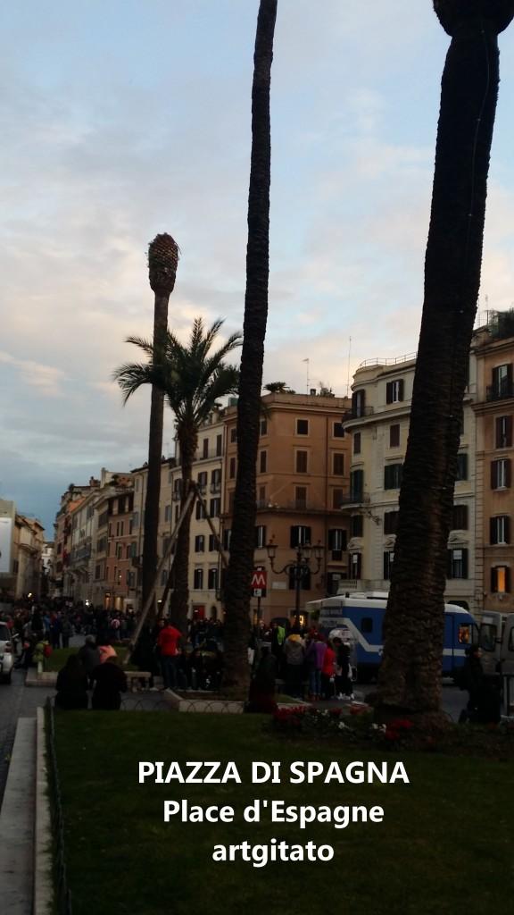 PIAZZA DI SPAGNA Place d'Espagne Rome Roma artgitato 6