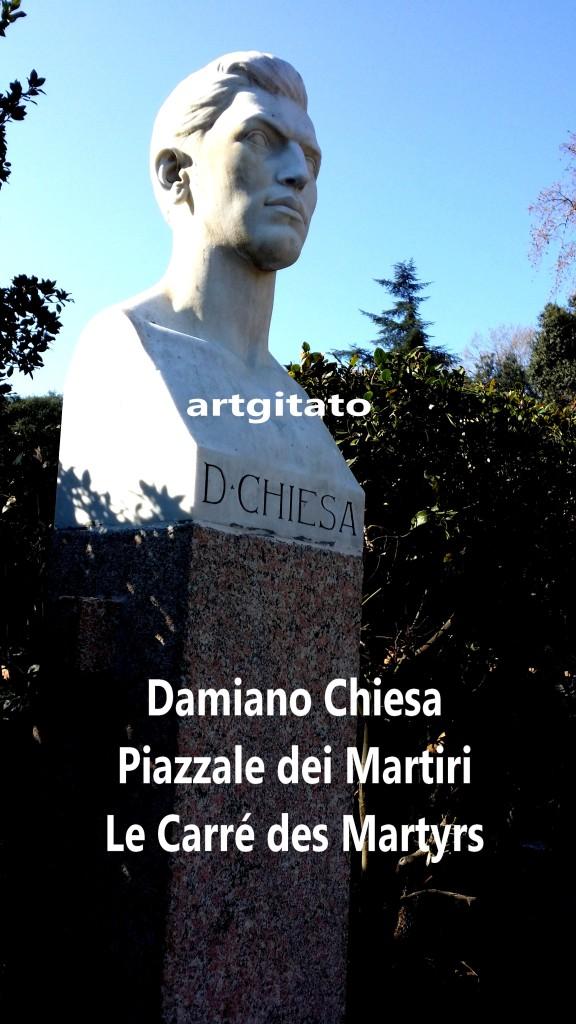 PIAZZALE DEI MARTIRI ROMA - LE CARRE DES MARTYRS ROME artgitato Damiano Chiesa artgitato