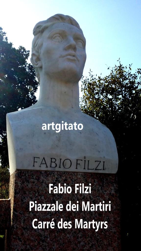 PIAZZALE DEI MARTIRI ROMA - LE CARRE DES MARTYRS ROME artgitato Fabio Filzi