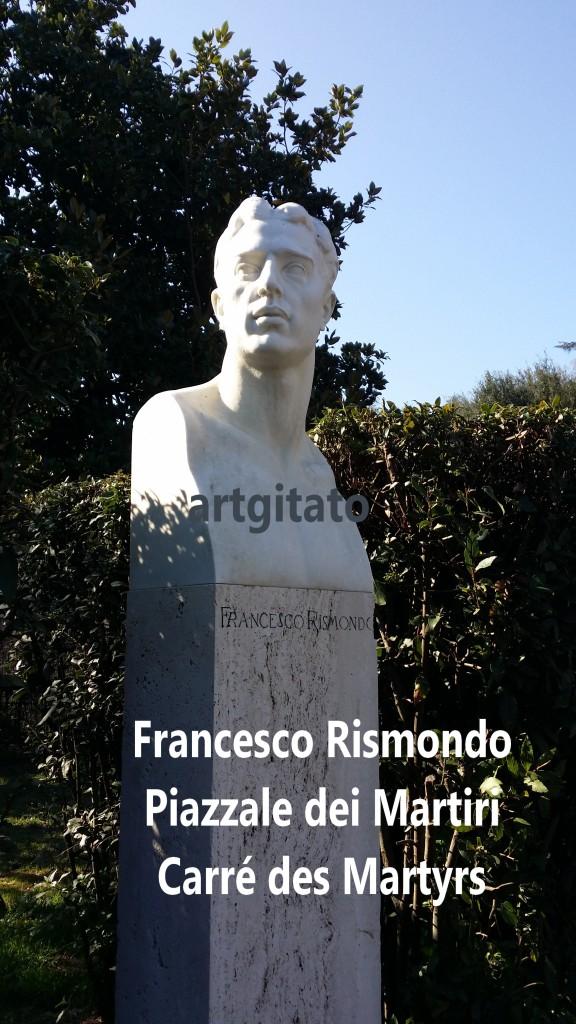 PIAZZALE DEI MARTIRI ROMA - LE CARRE DES MARTYRS ROME artgitato Franceso Rismondo