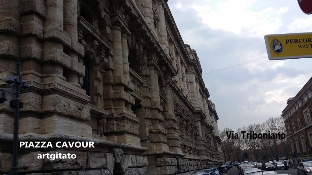 Piazza Cavour Place Cavour Rome Roma artgitato 1