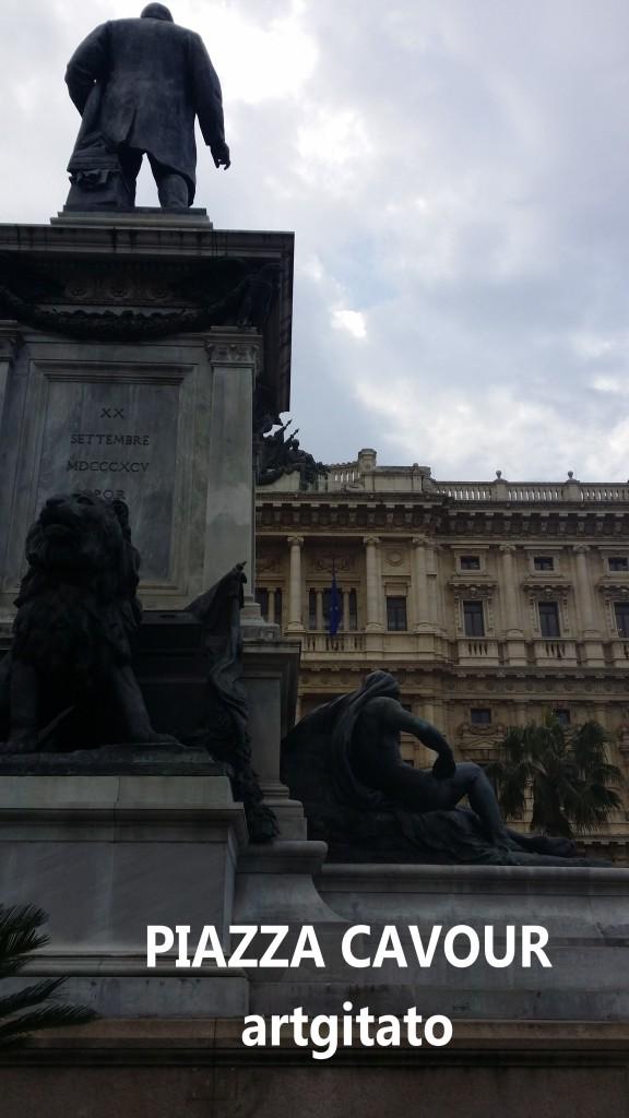 Piazza Cavour Place Cavour Rome Roma artgitato 3
