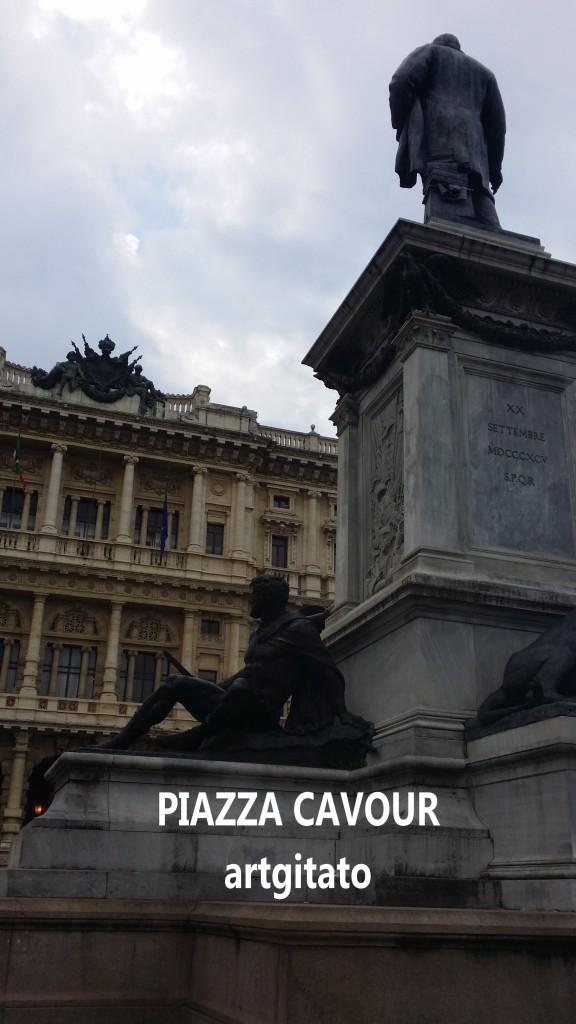 Piazza Cavour Place Cavour Rome Roma artgitato 4