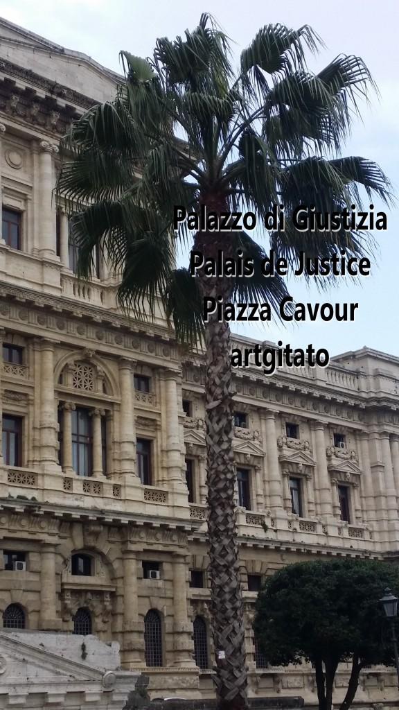 Piazza Cavour Place Cavour Rome Roma artgitato 9 Palazzo di Giustizia
