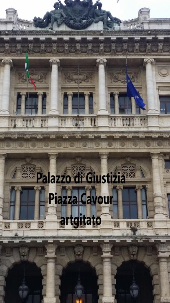 Piazza Cavour Place Cavour Rome Roma artgitato 92 Palazzo di Giustizia