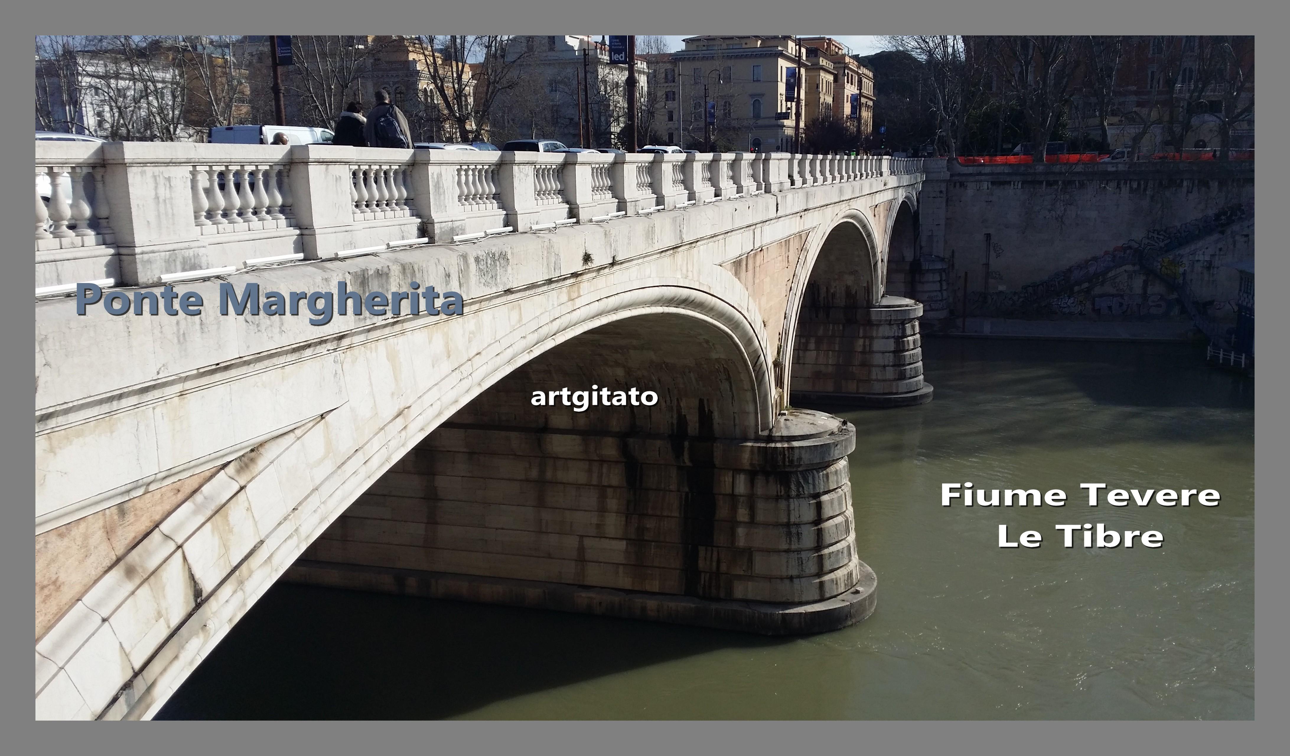 Ponte Margherita Roma Rome 5 Fiume tevere