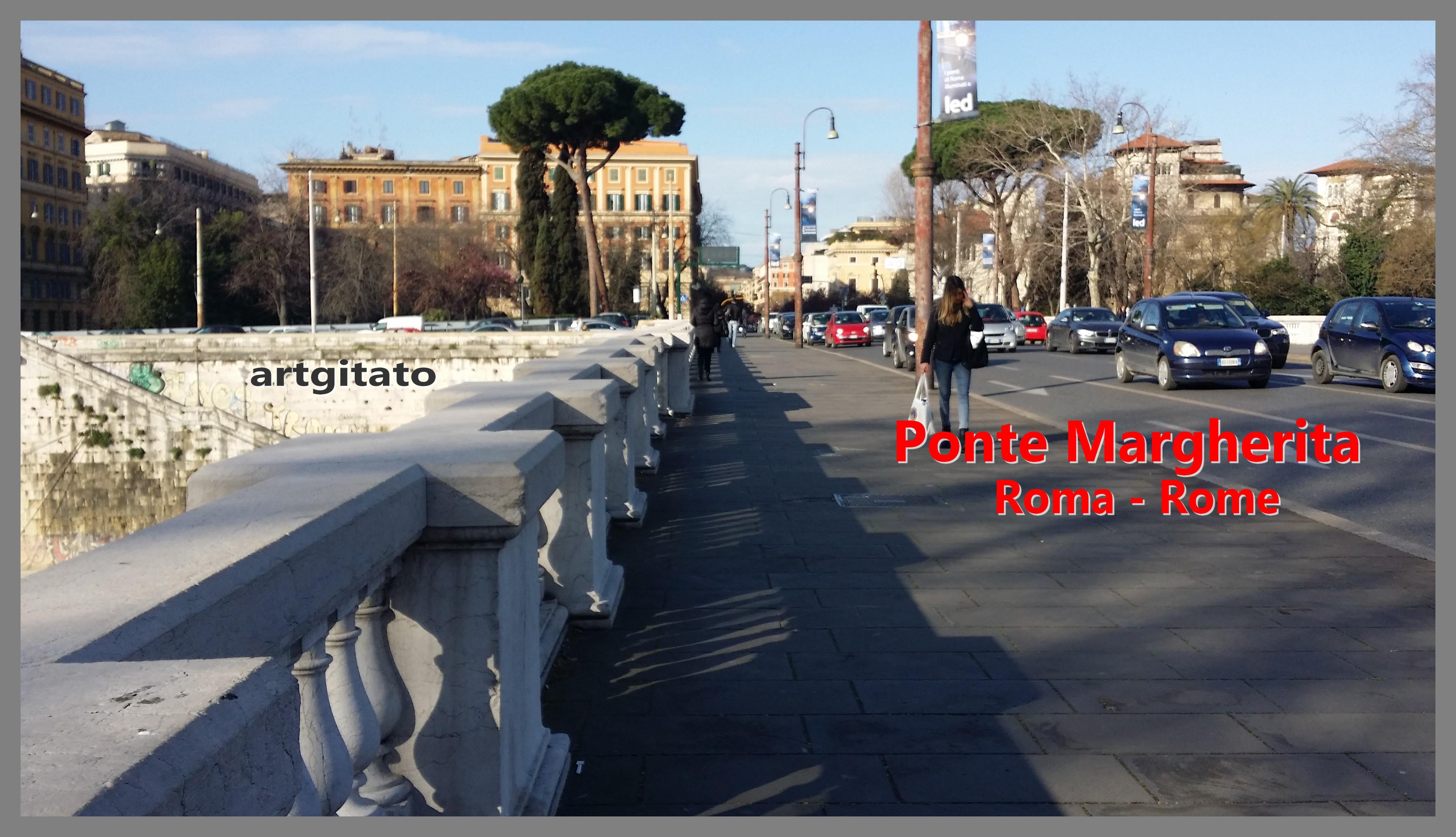 Ponte Margherita Roma Rome