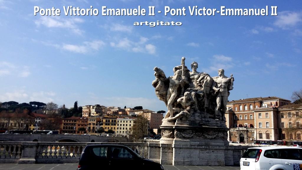 Ponte Vittorio Emanuele II - Pont Victor-Emmanuel II -12