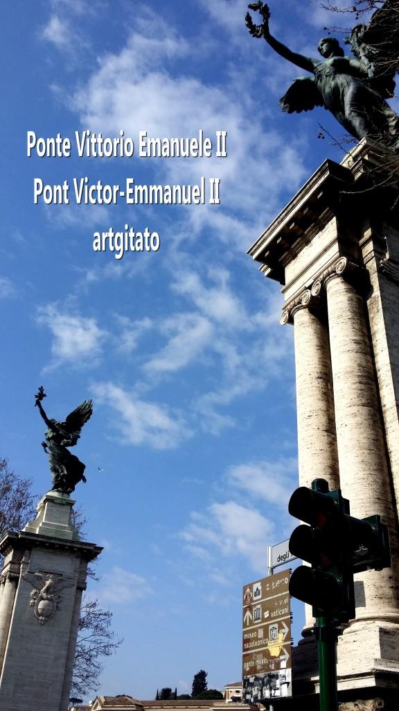 Ponte Vittorio Emanuele II - Pont Victor-Emmanuel II -16