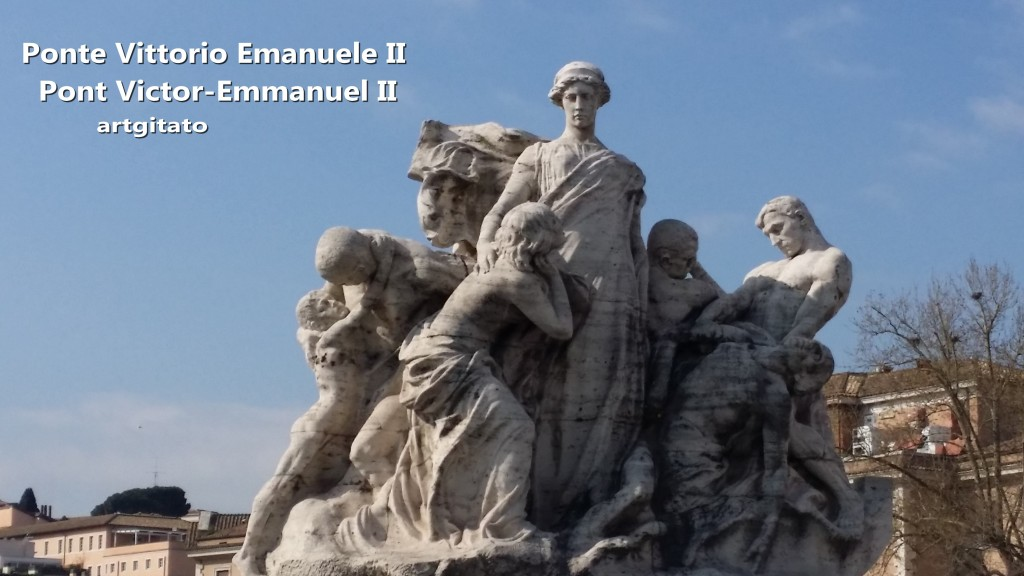Ponte Vittorio Emanuele II - Pont Victor-Emmanuel II -5