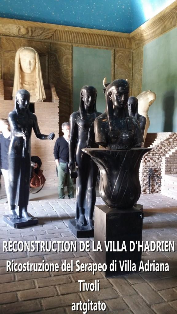 RECONSTRUCTION DE LA VILLA D'HADRIEN Risostruzione del Serapeo di Villa Adriana artgitato 4