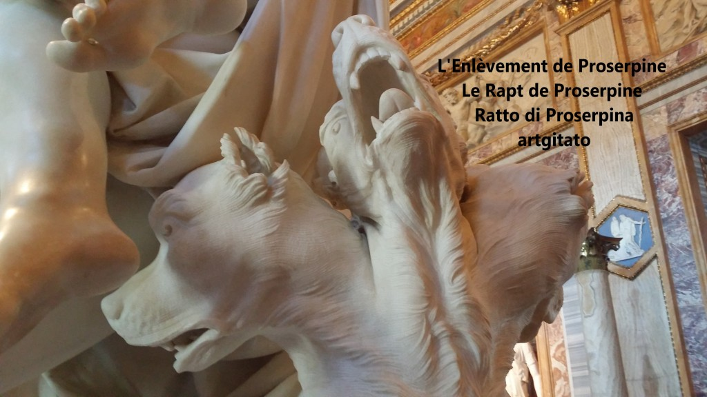 Rapt de Proserpine Ratto di Proserpina L'enlèvement de Proserpine artgitato Galleria Borghese Galerie Borghese 10