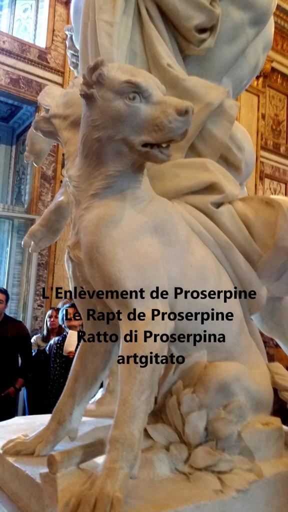 Rapt de Proserpine Ratto di Proserpina L'enlèvement de Proserpine artgitato Galleria Borghese Galerie Borghese 15