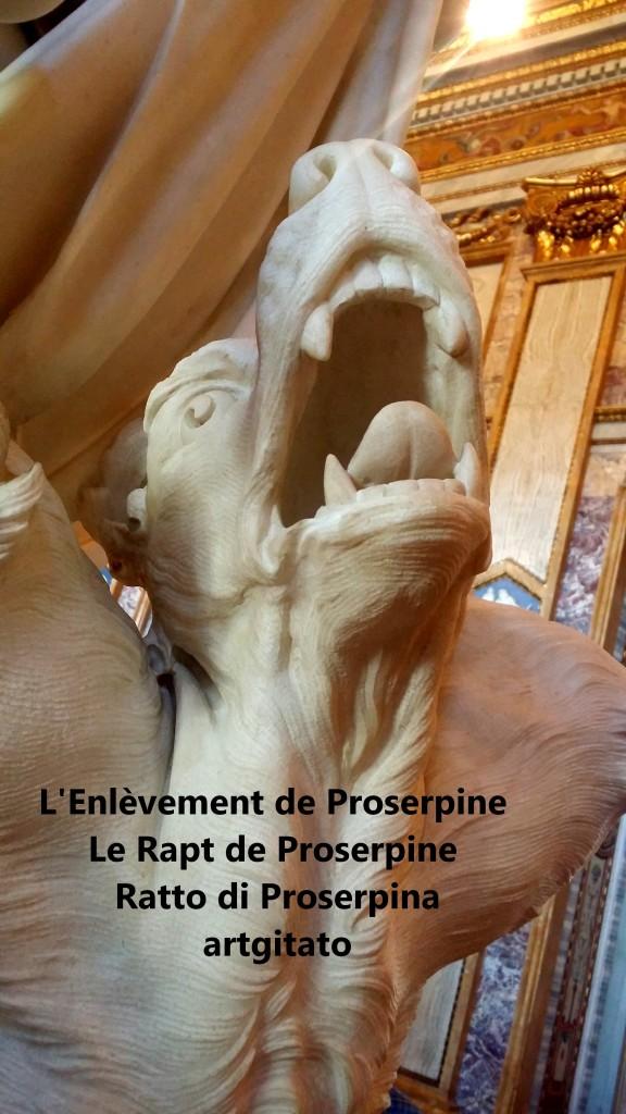 Rapt de Proserpine Ratto di Proserpina L'enlèvement de Proserpine artgitato Galleria Borghese Galerie Borghese 16