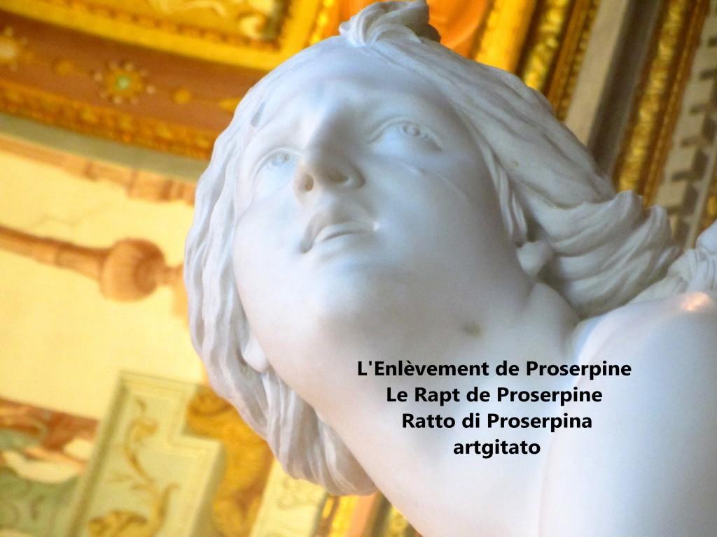 Rapt de Proserpine Ratto di Proserpina L'enlèvement de Proserpine artgitato Galleria Borghese Galerie Borghese 5