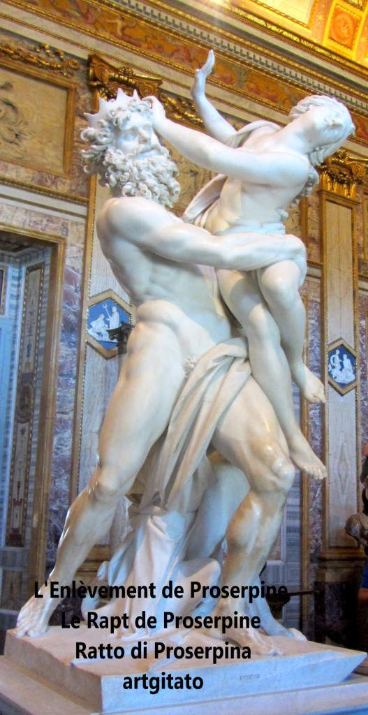 Rapt de Proserpine Ratto di Proserpina L'enlèvement de Proserpine artgitato Galleria Borghese Galerie Borghese 7