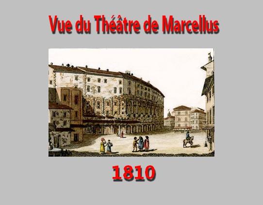 Roma  Rome Teatro di Marcello Bilderbuch für Kinder 1810 Théâtre de Marcellus