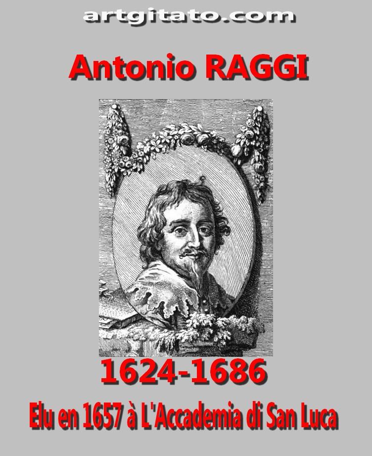 Rome Antonio_Raggi Ponti Roma Ponte sant'angelo argitato