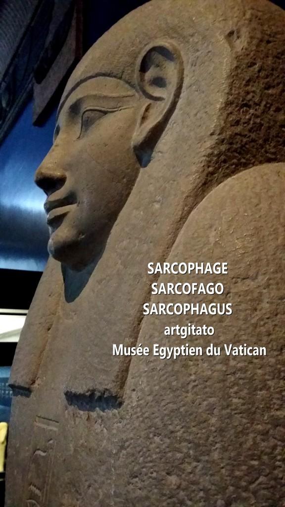 Sarcophage Coffin Sarcophagus Sarcofago Musée Egyptien Vatican Vaticano 1