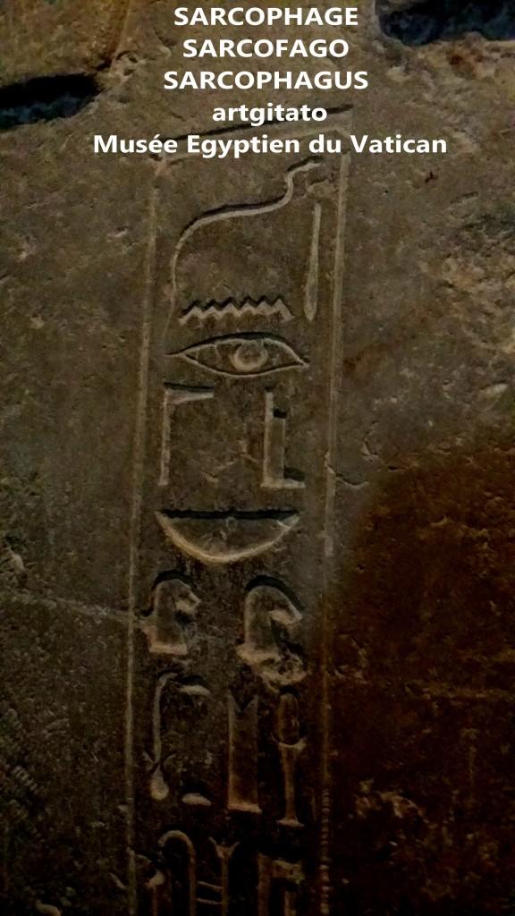 Sarcophage Coffin Sarcophagus Sarcofago Musée Egyptien Vatican Vaticano 2