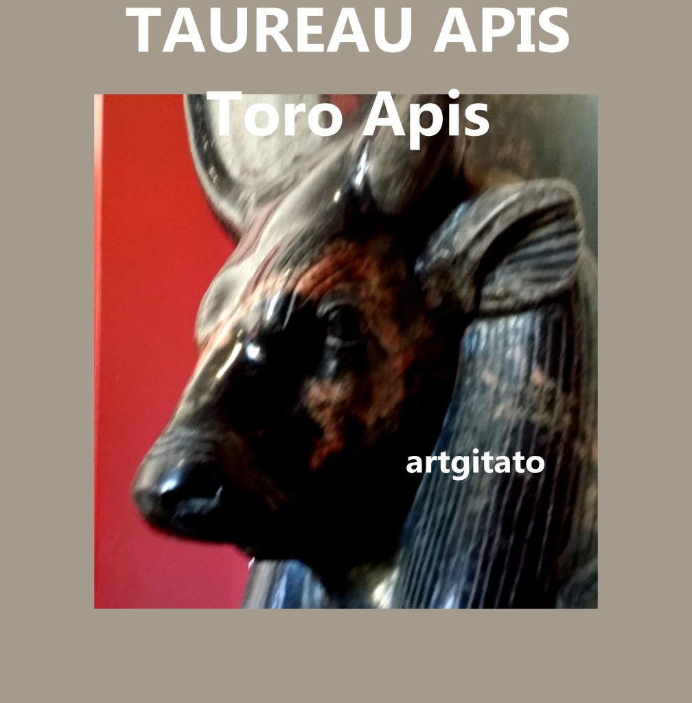 TAUREAU APIS toro apis artgitato 2