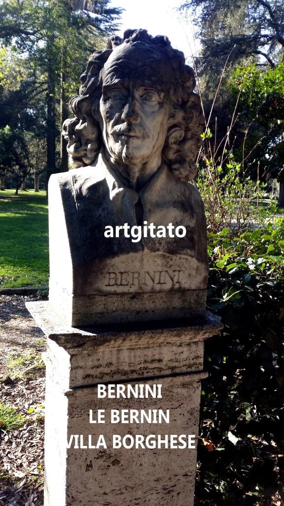 VILLA BORGHESE LES BUSTES I BUSTI Bernini Le Bernin artgitato