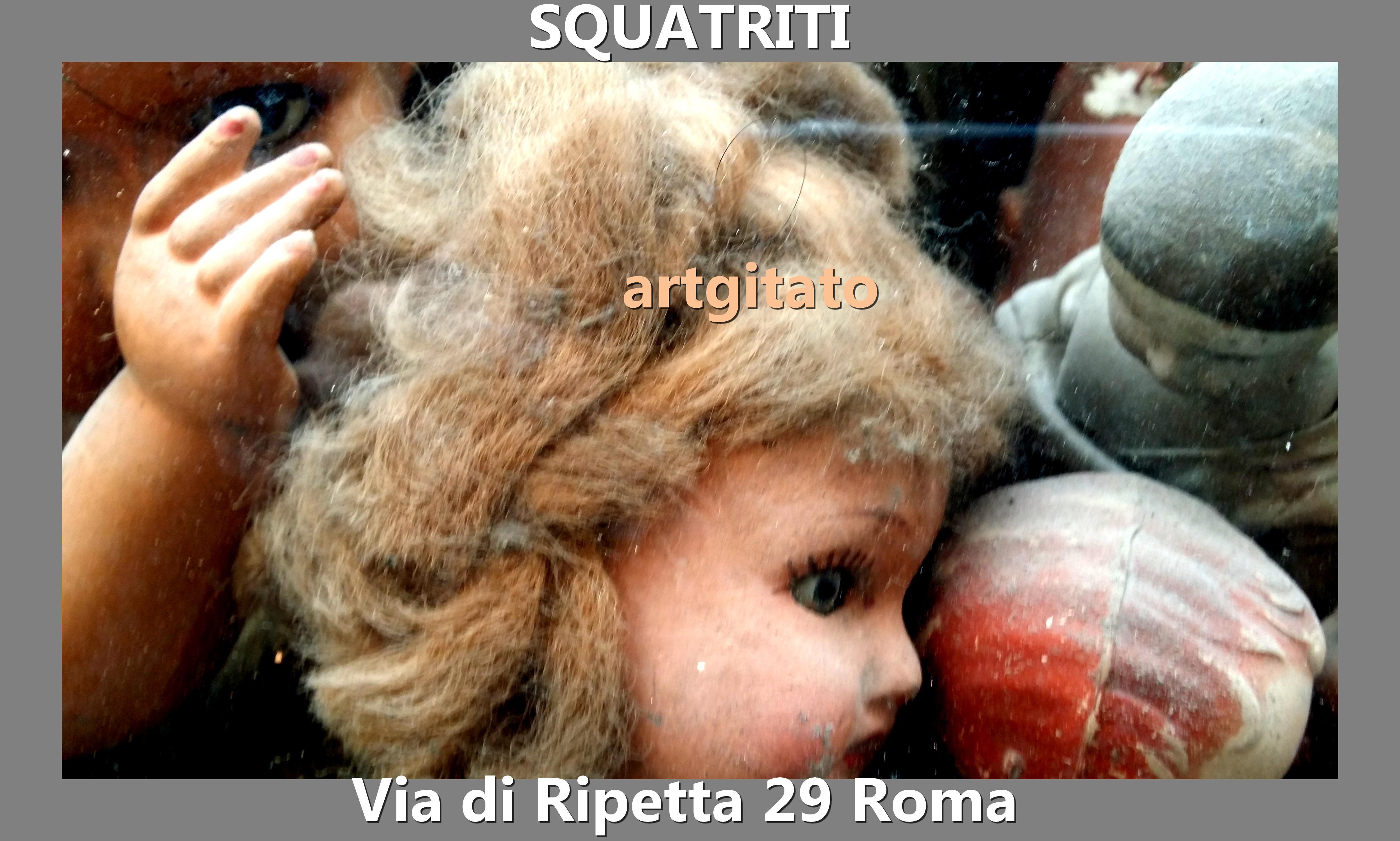 Via di Ripetta Squatriti Restaurateur de Poupée artgitato 10