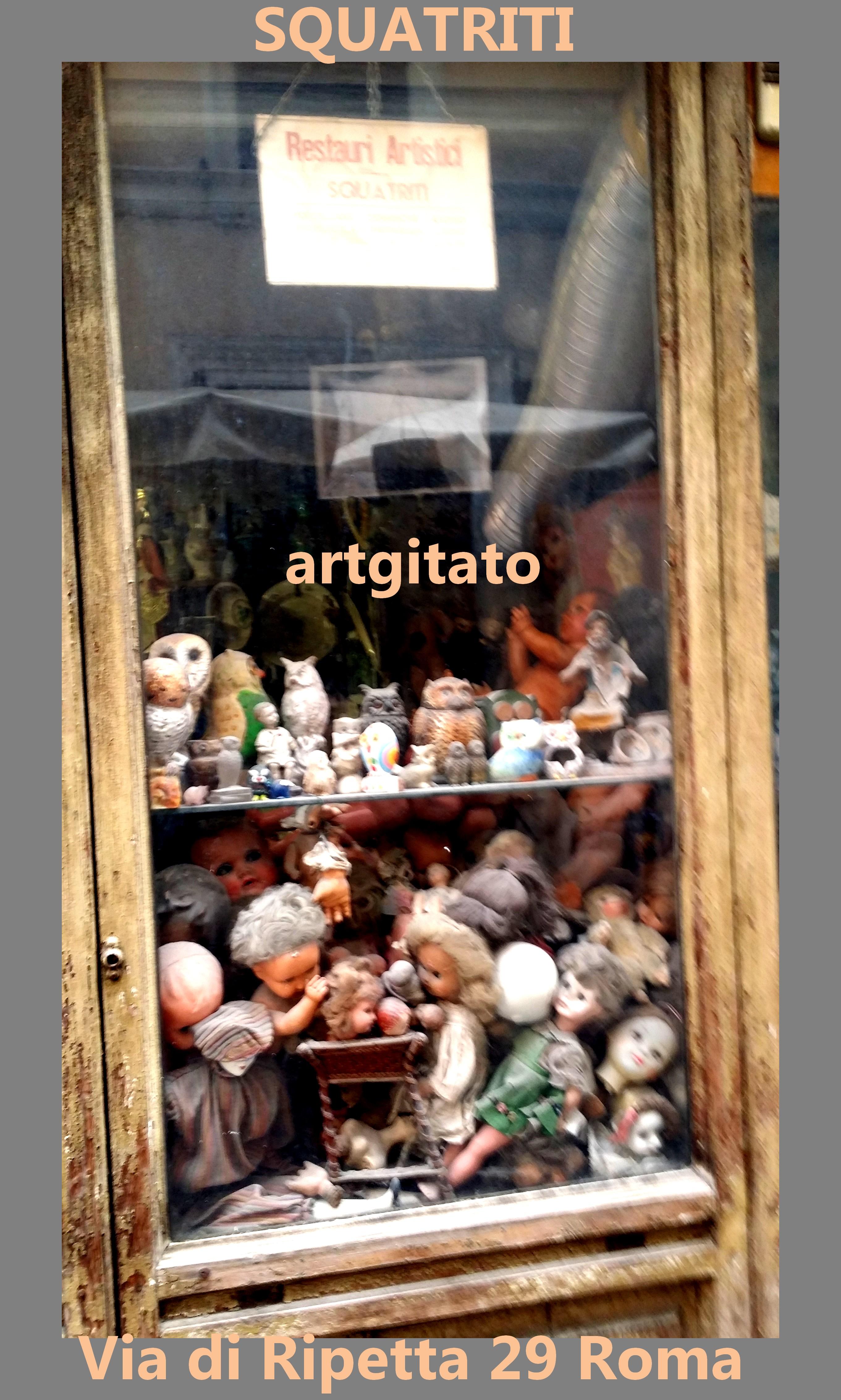 Via di Ripetta Squatriti Restaurateur de Poupée artgitato 11