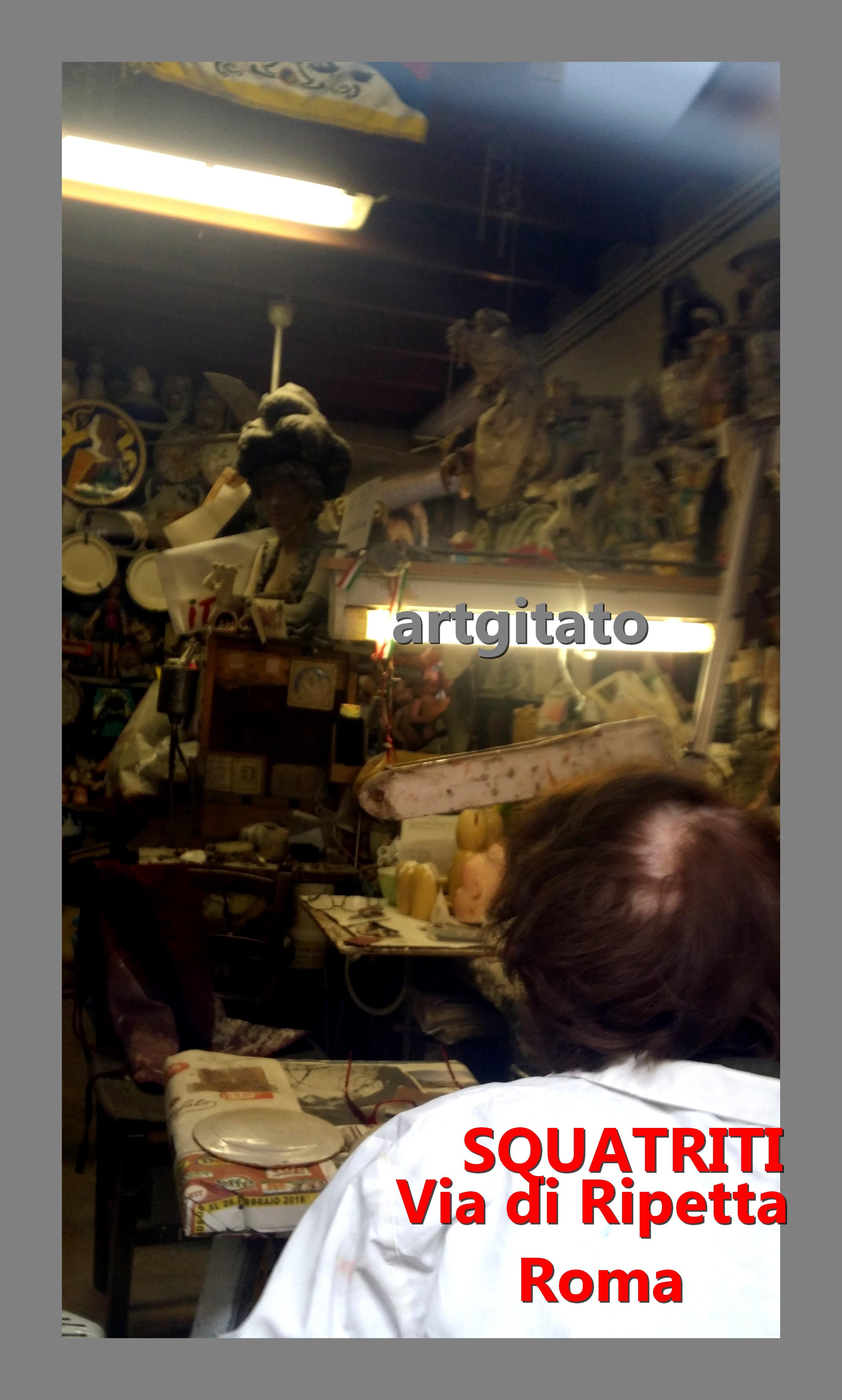 Via di Ripetta Squatriti Restaurateur de Poupée artgitato 2