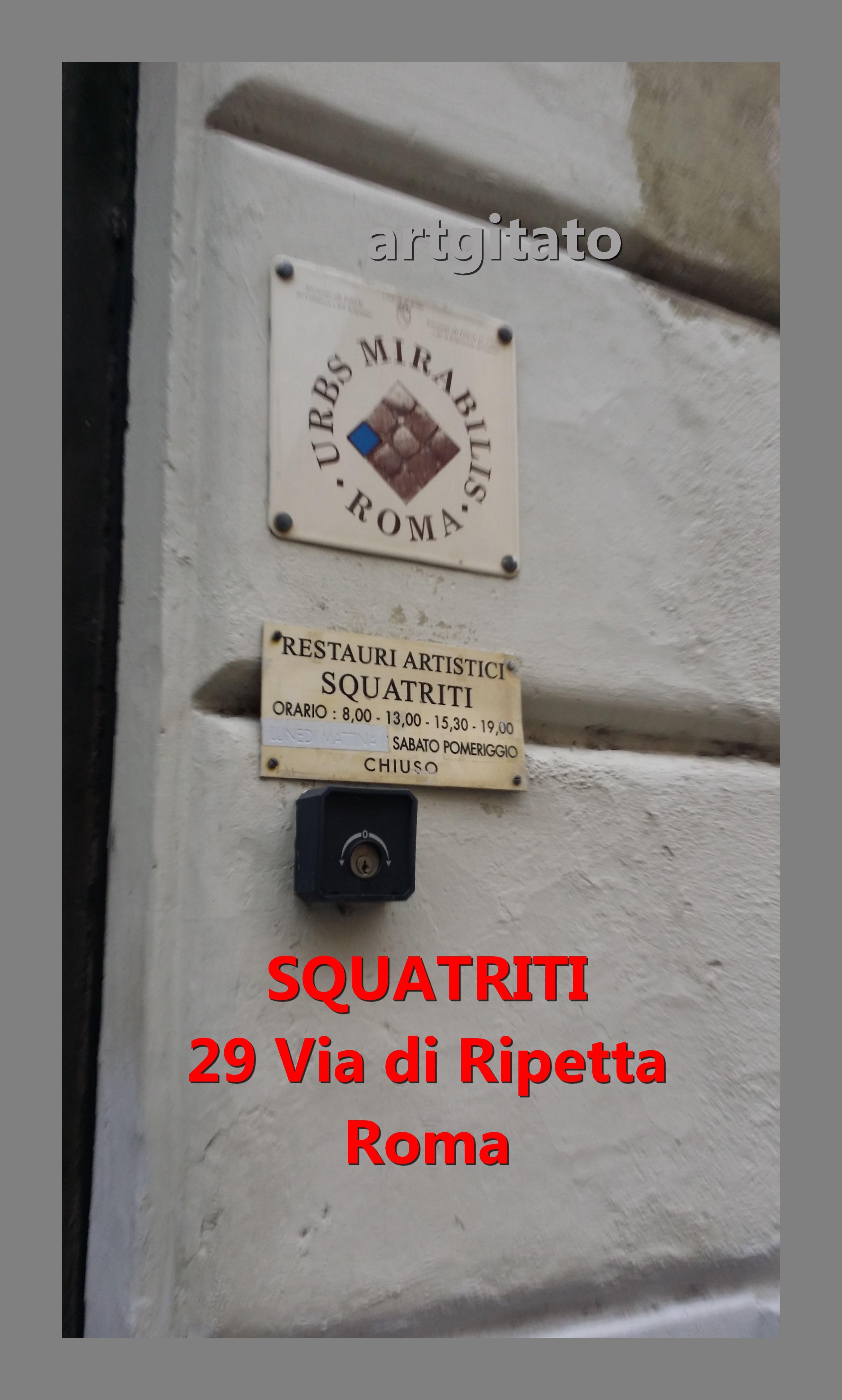 Via di Ripetta Squatriti Restaurateur de Poupée artgitato 3